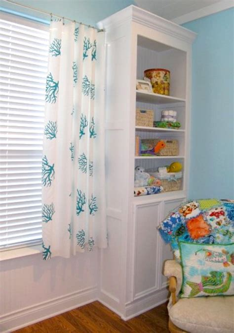Diy No Sew Curtains Curtains In Nursery