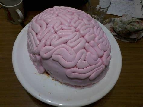Se Puede Hacer Pastel Con Forma De Cerebro | como hacer una torta cerebro para fan 225 ticos de twd