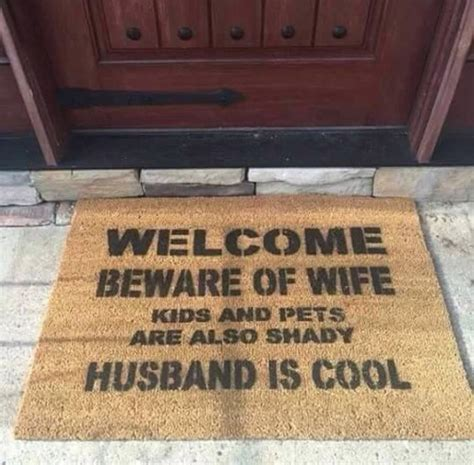 Cool Doormats welcome mat