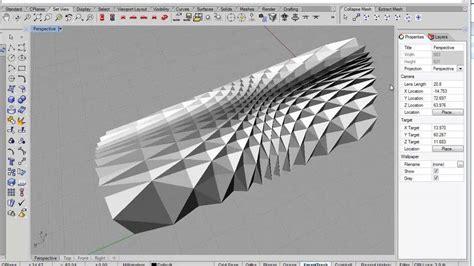 download pattern grasshopper grasshopper tutorial folded plate structure on vimeo