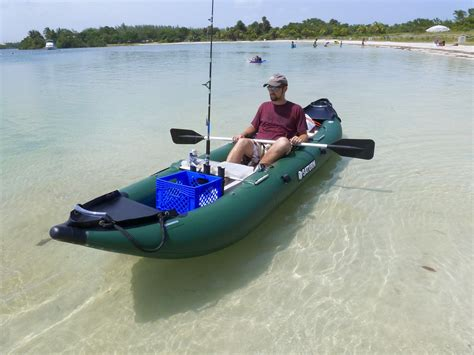fishing boat vs kayak 13 saturn inflatable fishing kayak fk396