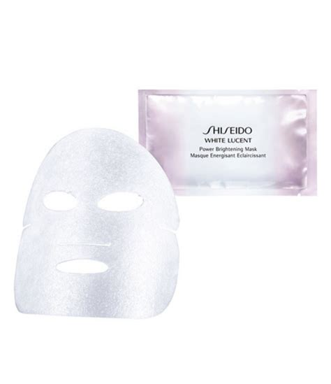 Shiseido White Lucent Intensive Brightening Mask by Shiseido White Lucent Power Brightening Mask Dillards