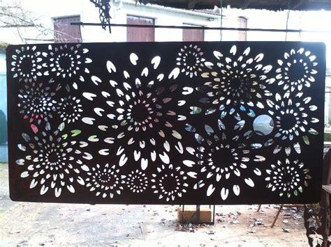 d 233 coration murale en m 233 tal jardin d 233 cor