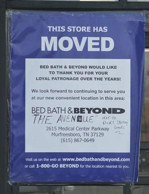 where is bed bath beyond murfreesboro news and radio