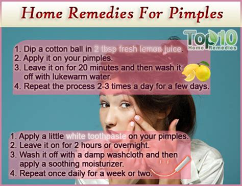 home remedies for pimples top 10 home remedies