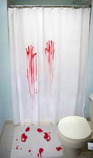 Blood Bath Shower Curtain Blood Bath Shower Curtain And Bath Mat The Green Head