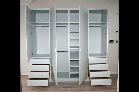 Wardrobes With Drawers by Chartwood Design Ltd Bedrooms Wardrobes