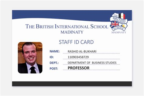 school staff id card template i need a staff id card and student library card design