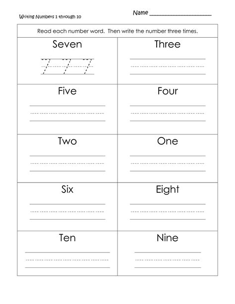printable numbers and number words math worksheets writing numbers in words writing number