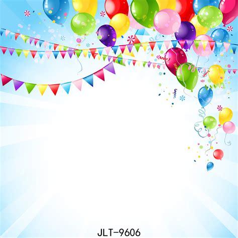 happy birthday balloon cartoon vinyl photography flag