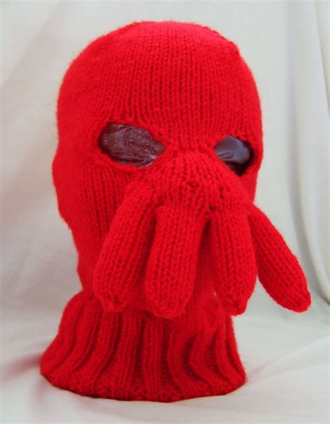 zoidberg knit hat knit or crochet your mask free patterns