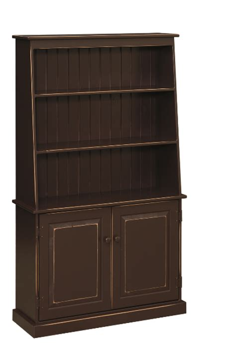 Unfinished Bookcases With Doors 36 Quot W Pier Bookcase With Doors Bookcases