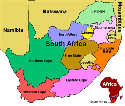 Map South Africa by South Africa Map Pictures