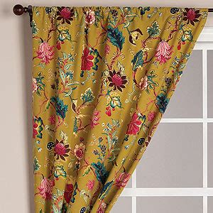 drapes world v louise tree of life curtain curtains and drapes