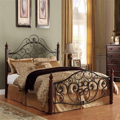 King Metal Bed Frame Headboard Footboard Benefits Of Choosing A Metal Bed Interior Design