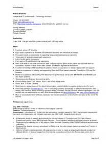 Hp Indigo Operator Sle Resume by Canadian Resume Format Resume Cv Cover Letter