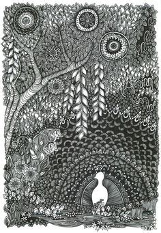 doodle daun 1000 images about zenspirational scapes land sea