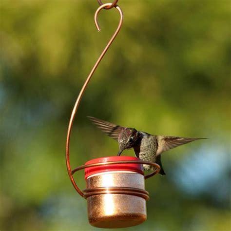 new items copper hummingbird bee resistant hanging feeder