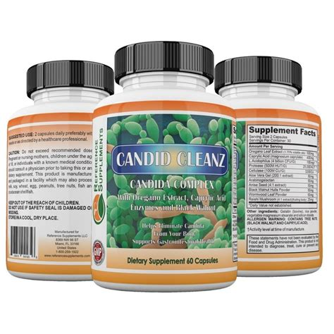 Pill Detox Remedies by Buy Candida Cleanse Pills Support Detox Treatment
