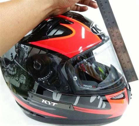Helm Kyt Biasa flat visor helm kyt informasi otomotif mobil motor