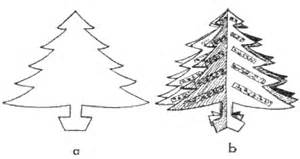 Christmas Tree Crafts For Kids  How To Make Trees With Easy sketch template