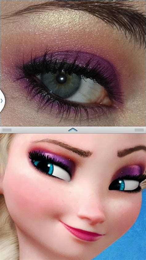 film makeup frozen elsa makeup from disney movie frozen make up pinterest