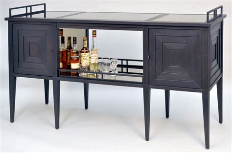bar console art deco bar cabinet dorset custom furniture dan mosheim vermont