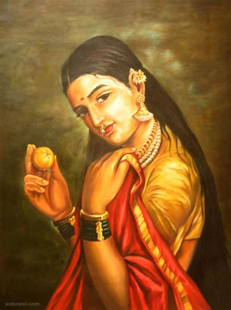 biography of artist raja ravi verma 50 most beautiful indian paintings from top artists for