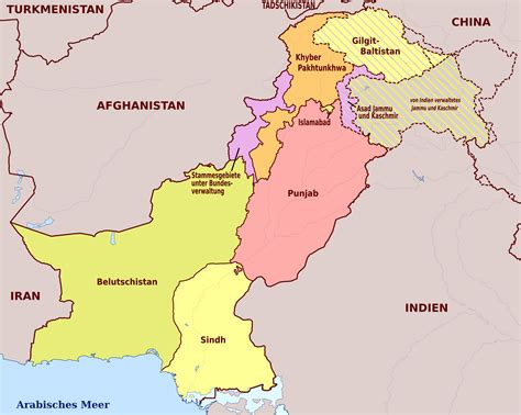 map of pakistan maps of pakistan detailed map of pakistan in