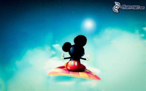 teppich mickey mouse fliegender teppich