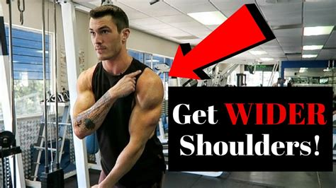 wider shoulders fix  youtube