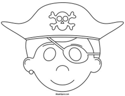 printable pirate mask printable pirate mask