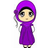 Dan Foto Gambar Kartun Wanita Muslimah Comel Car Interior Design