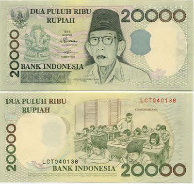 Uang Kuno Dua Puluh Ribu Rupiah Th 1998 evolution money quot rp 20 000 quot perubahan mata uang di indonesia adavenautomodified