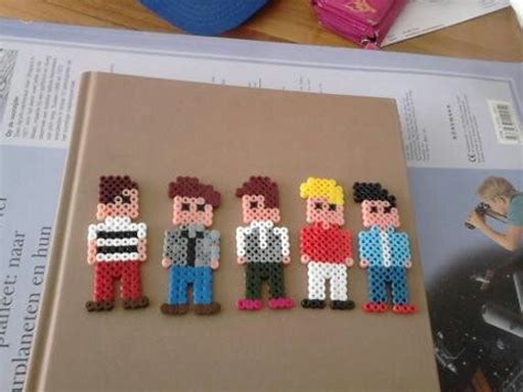 one direction perler perler made them myself one direction perler