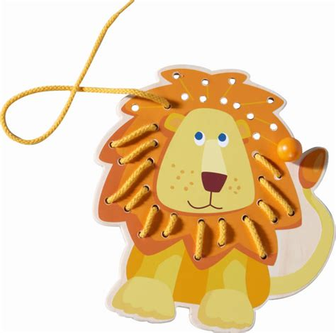 lion ster knutselen haba animal 224 lacer lion 300189
