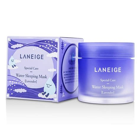 Lavender Water Sleeping Mask 70ml by Laneige Water Sleeping Mask Lavender 70ml Cosmetics