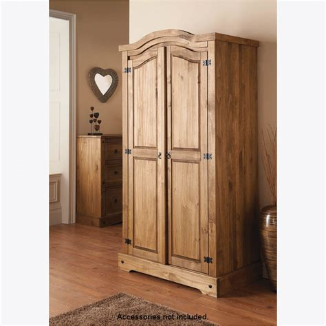 corner clothing armoire b m 2 door wardrobe 319271 b