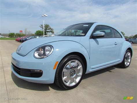 blue volkswagen 2012 denim blue volkswagen beetle 2 5l 62976481 photo 3
