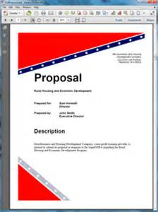 doh federal government grant proposal create your own