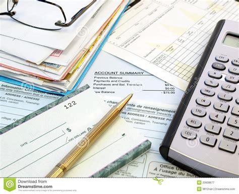 wage bill pay bills royalty free stock photography image 20608677