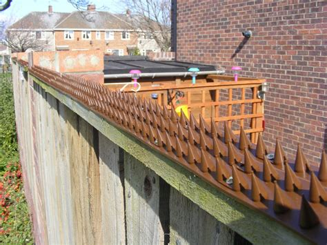 garden wall security garden security fence wall spikes six colours ebay