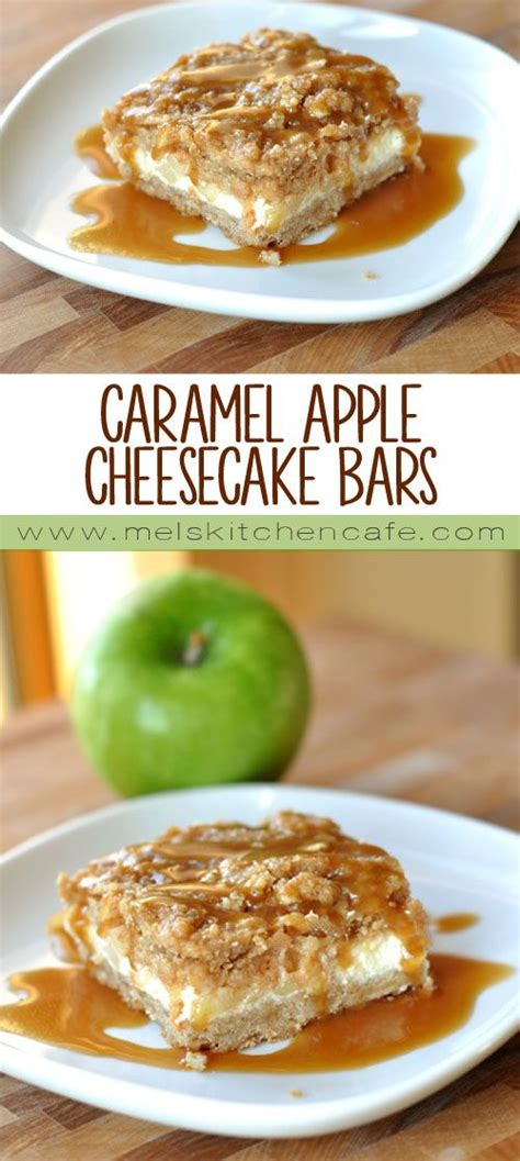 caramel apple cheesecake bars with streusel topping caramel apple cheesecake bars with streusel topping