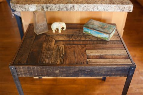 repurposed desk repurposed pallet wood desk with metal legs
