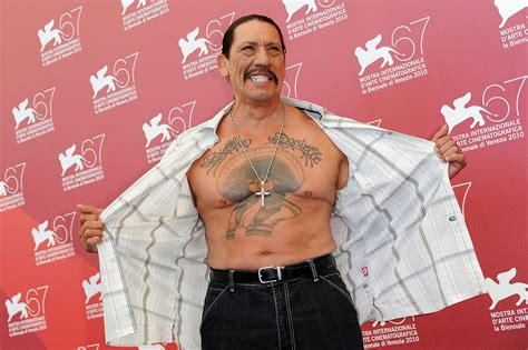 danny trejo chest tattoo danny trejo portrait lookbook stylebistro