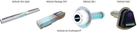 refresh air purification uv light air cleaner   furnaces