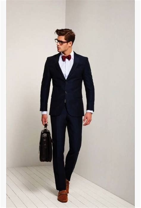 1000 ideas about black suit brown shoes on