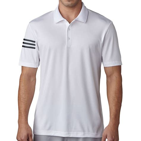 Polo Shirt Adidas Stripe Olog adidas golf 2017 climacool 174 3 stripes club crestable mens