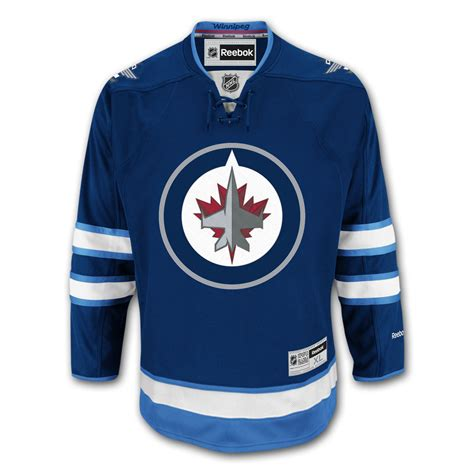 winnipeg jets reebok premier youth replica home nhl hockey