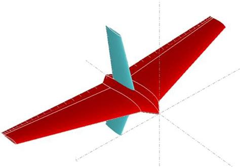 Advanced Uav Aerodynamics Flight Stability And design of a small uav combined between flying wing and
